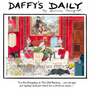 Daffy's Daily - Slingsby's drink on zoom (DD63)
