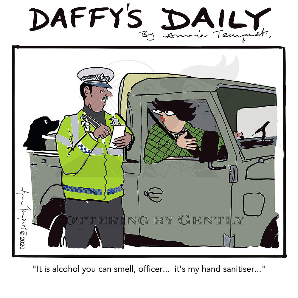 Daffy's Daily - Alcohol - hand sanitiser (DD01)