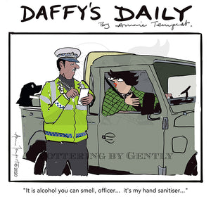 Daffy's Daily - Alcohol - hand sanitiser (DD48)
