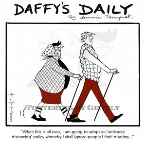 Daffy's Daily - Antisocial distancing (DD66)