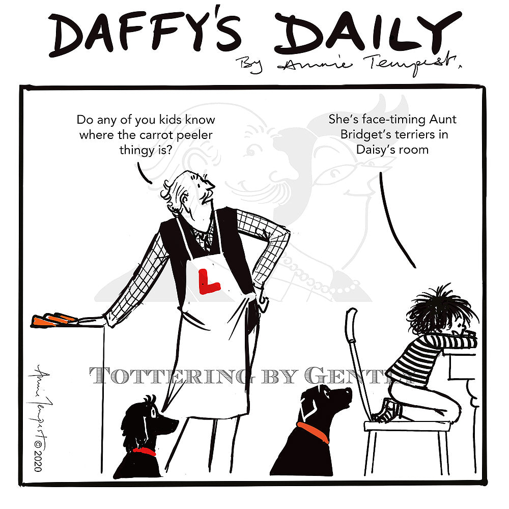 Daffy's Daily - Carrot peeler thingy (DD20)