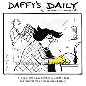 Daffy's Daily - Compost heap (DD06)