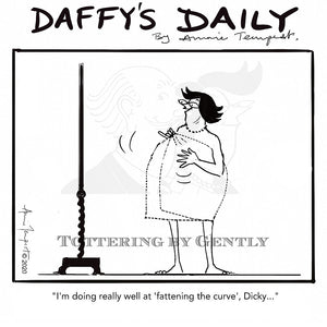 Daffy's Daily - Fattening the curve (DD08)