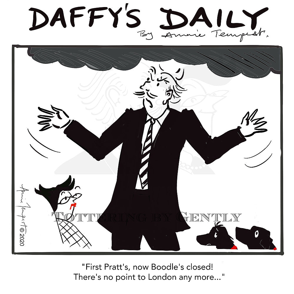 Daffy's Daily - First Pratt's now Boodle's (DD09)
