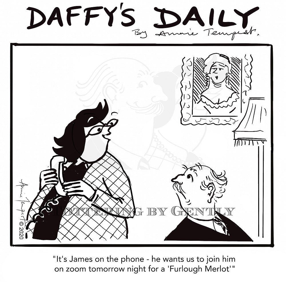 Daffy's Daily - Furlough Merlot (DD58)