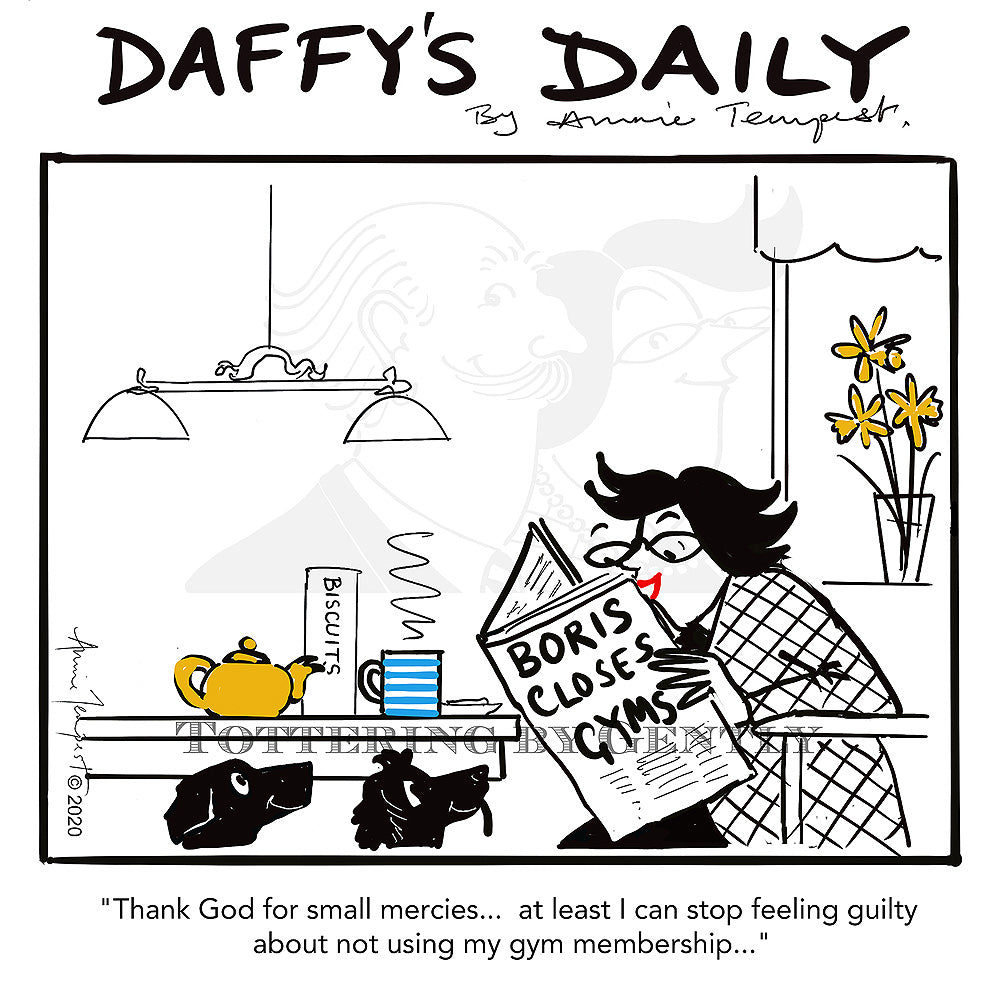 Daffy's Daily - Gym membership (DD12)