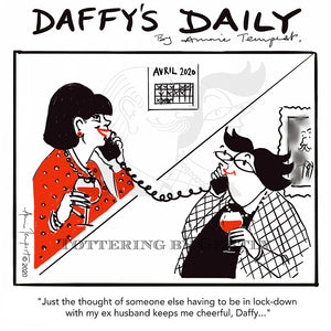 Daffy's Daily - Lockdown with ex husband (DD14)
