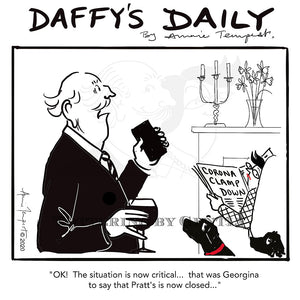 Daffy's Daily - Pratt's - situation critical (DD17)