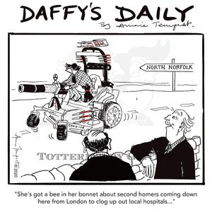 Daffy's Daily - Second homes in Norfolk (DD19)