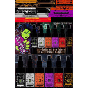 Hexist Body Mists 100ml (6 Choices Available)