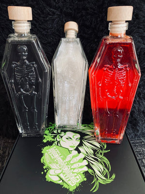 Coffin Glass Hexwash Large 200ml (3 Choices Available)