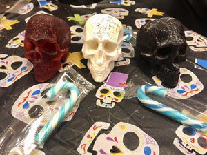 3D Skull Soap Trio (3 Fragrances)