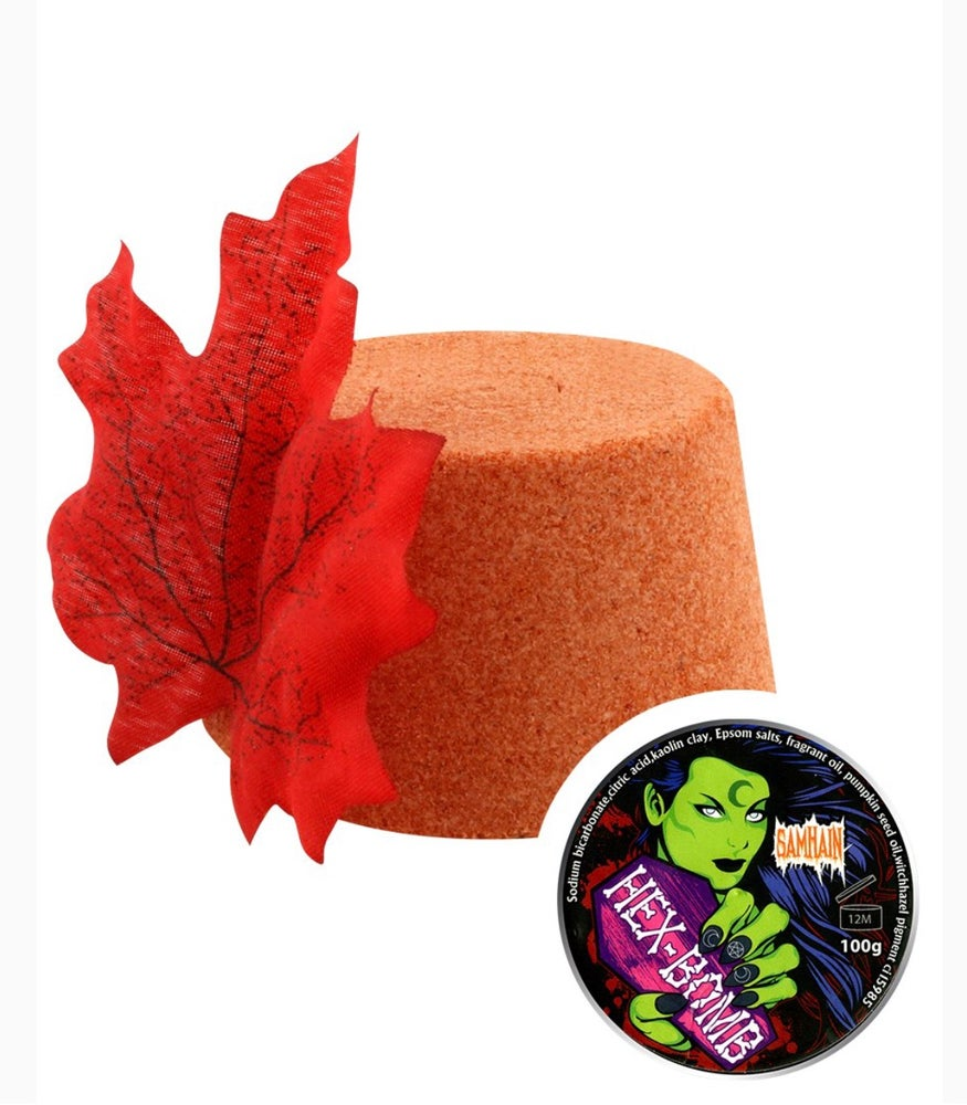 Samhain Orange Bathbomb (Sa-Win)
