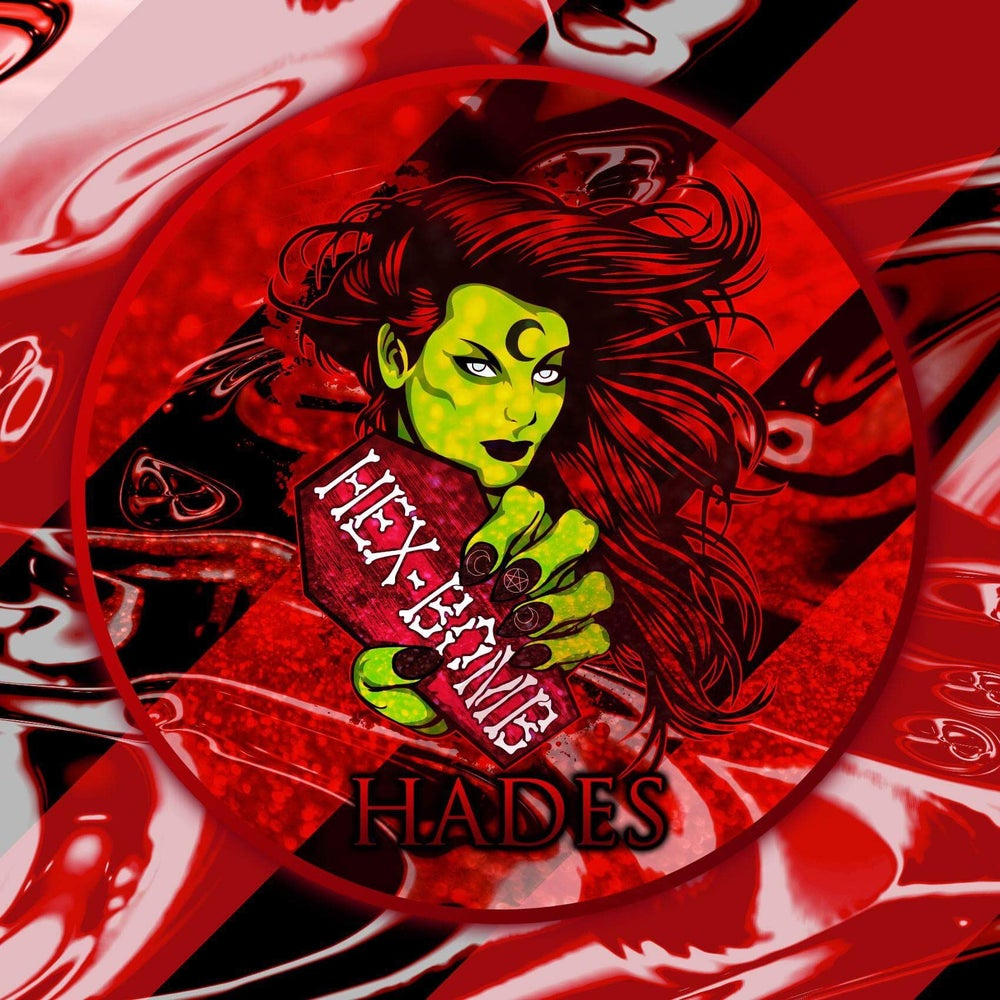 Hades Luxury Dark Bloody Metallic Luxury Bath Bomb with Single Use Soap