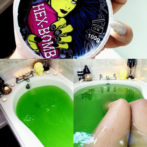 Serpent bath bomb