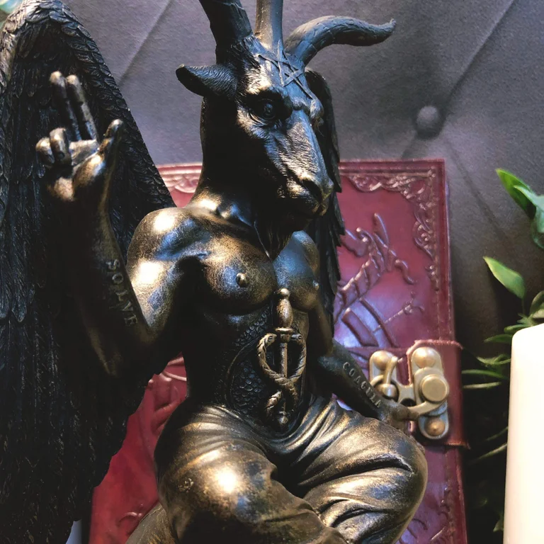 Baphomet Antiquity Figurine bronze or white