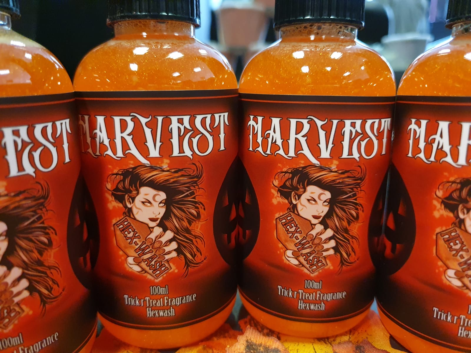 Harvest Halloween hexwash body wash