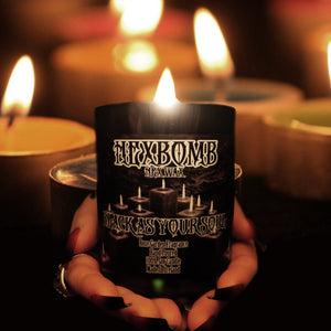 BLACK AS YOUR SOUL LARGE 330ml black soy candle