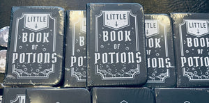 Little book of potions mini notebook /creepy things/carpe noctem