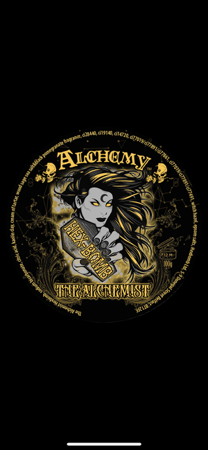 THE ALCHEMIST- BLACK AND GOLD METALLIC HEXBOMB xALCHEMY COLLAB
