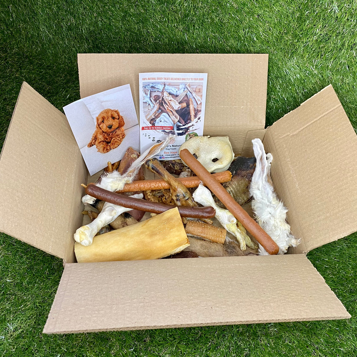 Natural Doggy Treats - 3 Dogs