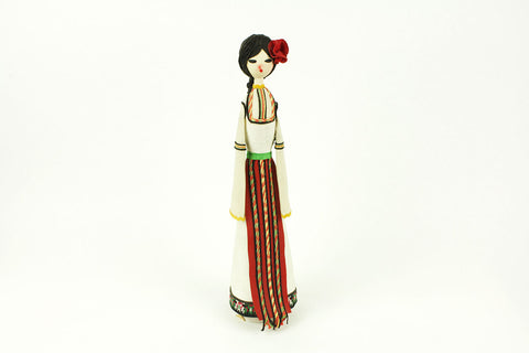 Traditional Bulgarian Handmade Vintage Doll