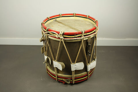 Authentic Henry Potter & Company Marching Snare Drum from the American Civil War period