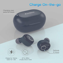 Load image into Gallery viewer, Kurdene Wireless Earbuds,Bluetooth Earbuds with Charging Case - Royal Blue