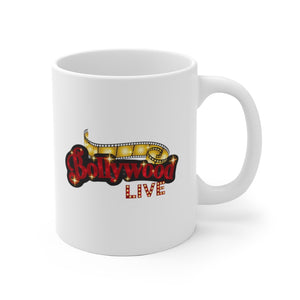 The Bollywood Live USA White Ceramic Mug 11 oz