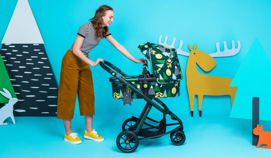 Giggle 3 /& 4 Pram Pushchair Range Colourful with Change Mat Mister Fox Cosatto Change Bag