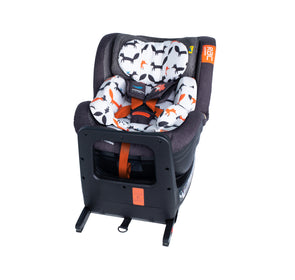 RAC Come and Go I-Rotate I-Size Car seat Mister Fox