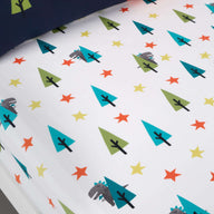 Fitted Bed Sheets Cot Dragon Kingdom