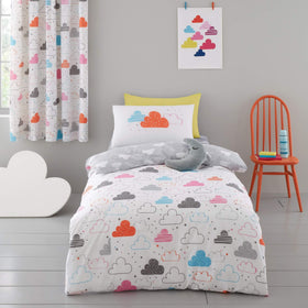 Duvet Cover Set for Single Fairy Clouds