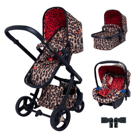 Giggle 3 Travel System Bundle Hear Us Roar
