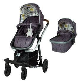 Giggle Quad Pram and Pushchair Fika Forest