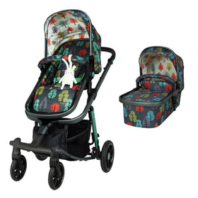 Giggle Quad Pram and Pushchair Hare Wood