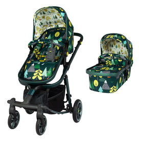 Giggle Quad Pram and Pushchair Into The Wild