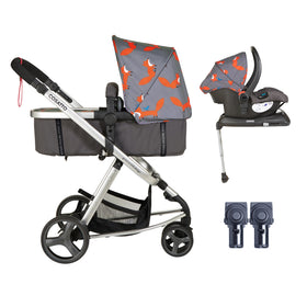 Giggle Mix Whole 9 Yards Hold Isofix Bundle Mister Fox