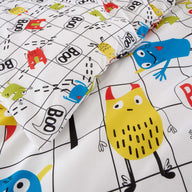 Duvet Cover Set for Single Monster Mob