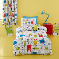 Duvet Cover Set for Cotbed Monster Mob