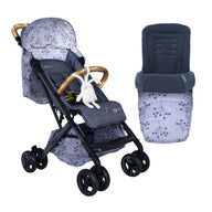 Woosh XL Stroller with Footmuff Bundle Hedgerow