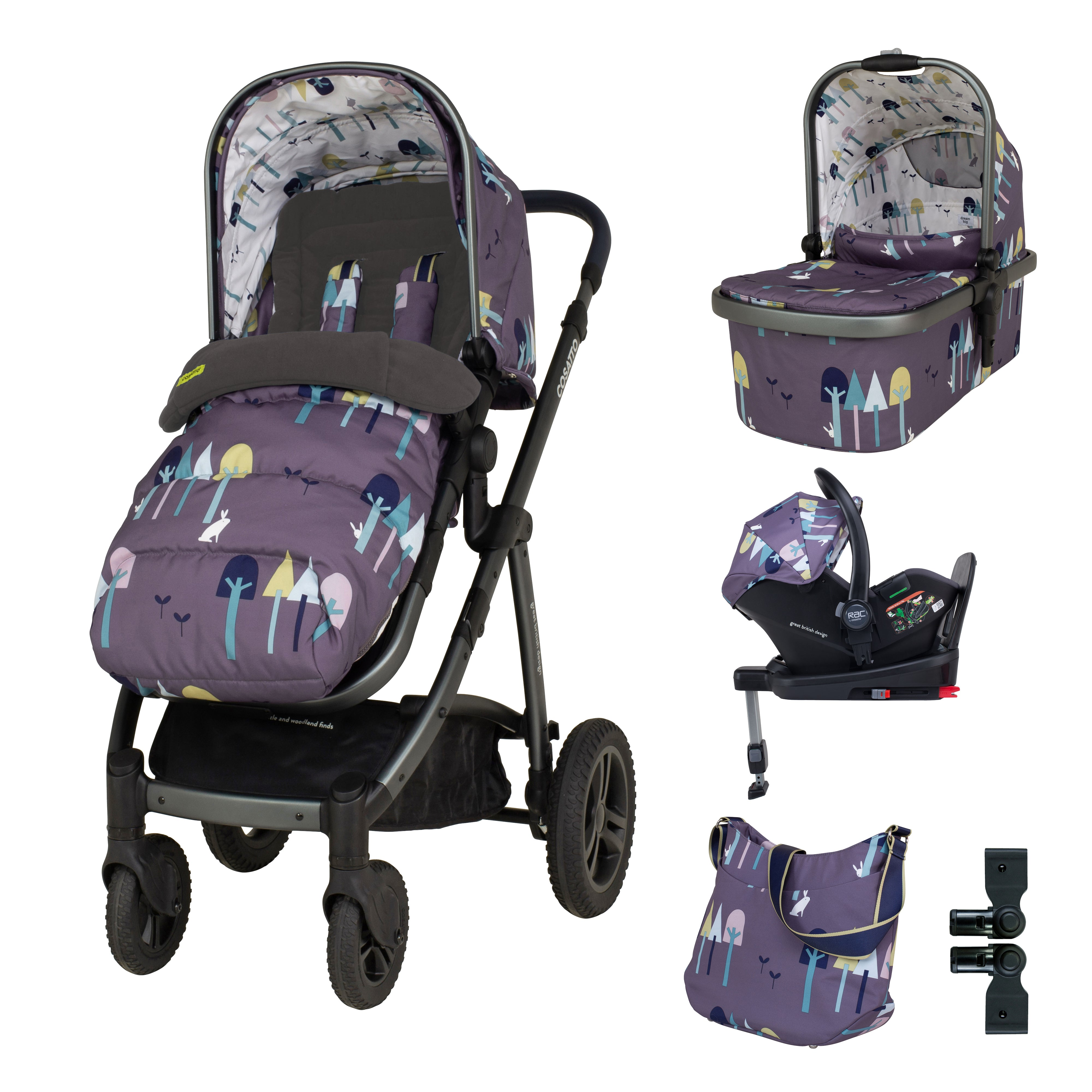 Cosatto Wow Pushchair Everything Bundle
