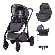 Wow Continental Car Seat and i-Size Base Bundle Fika Forest