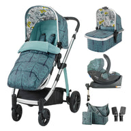 Wow Whole 9 Yards Accessories & Port Isofix Bundle Fjord