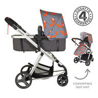 Giggle Mix Pram and Pushchair Mister Fox