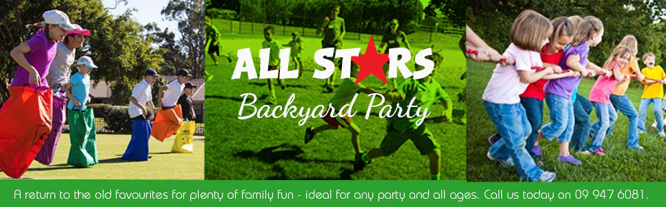 All Stars backyard party