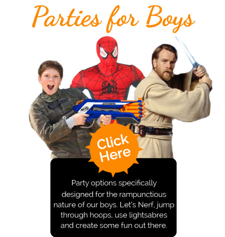 Boys Party Entertainers