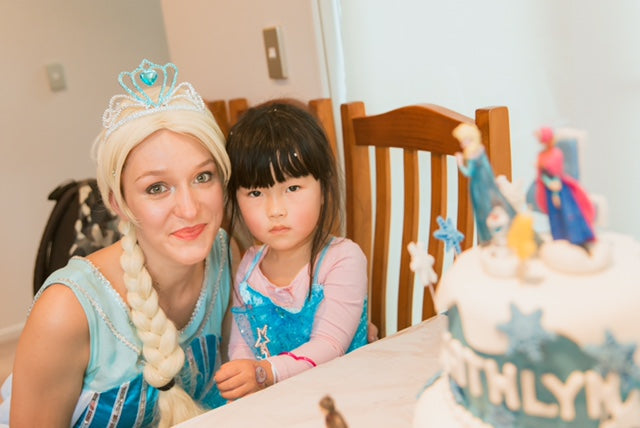 Frozen Elsa party Entertainer Auckland
