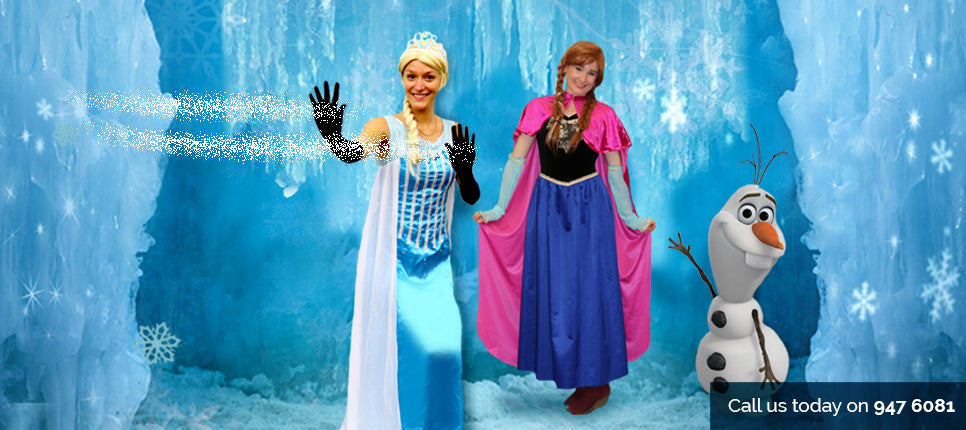 Elsa and Anna Party Entertainers | Auckland