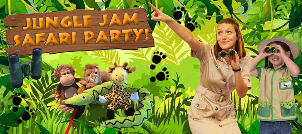 Jungle Safari Party for kids